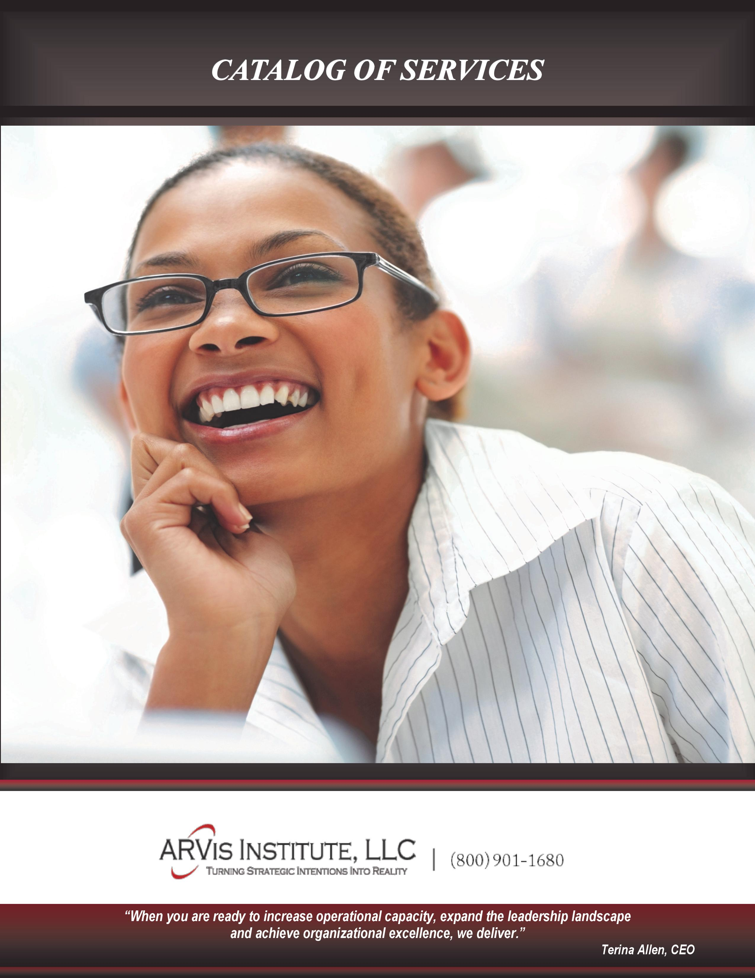 Read ARVis Institute Catalog of Services