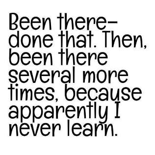 Never did learn.small